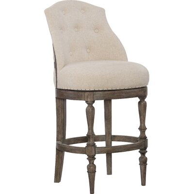 Kacey Deconstructed Swivel Bar Stool