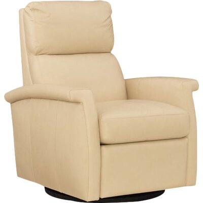 Rosalie Swivel Recliner Body Fabric: Beige