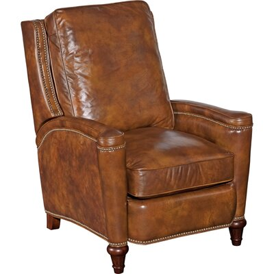 Leather Manual Recliner Body Fabric: Twin Oaks Plantation