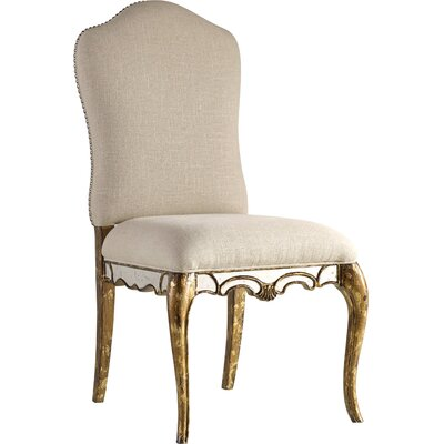 Low-Back Upholstered Dining Chair