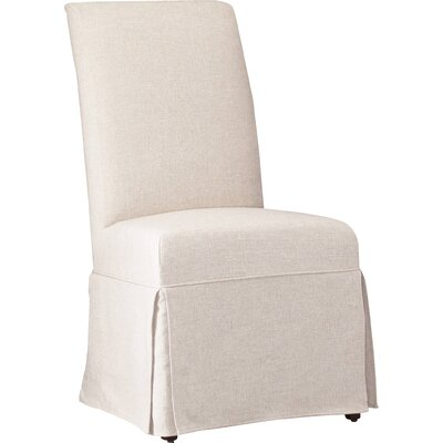Sanctuary Clarice Upholstered Dining Chair (Set of 2) Upholstery: Jade White