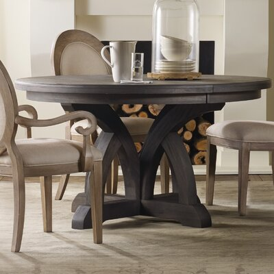 Corsica Extendable Dining Table Table Finish: Espresso