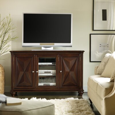 Cheap Hooker Furniture Sienna Canyon 60″ TV Stand in Warm Cherry (HKR4387)