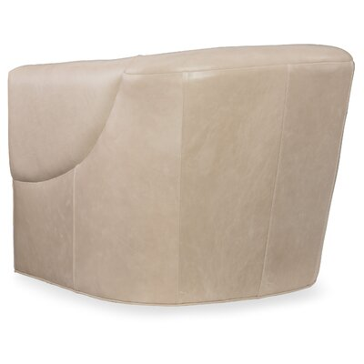 Bonnie Swivel Barrel Chair Upholstery: Beige