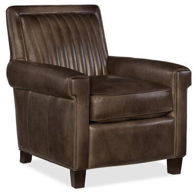 Sydney Club Chair Upholstery: Black