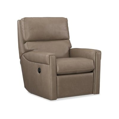 Lyrica Power Swivel Recliner Upholstery: Beige