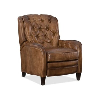 Nolte Manual No Motion Recliner Upholstery: Medium Brown