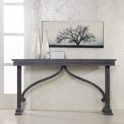 Cheap Hooker Furniture Melange Travion Arched Console in Gray (HKR4498)