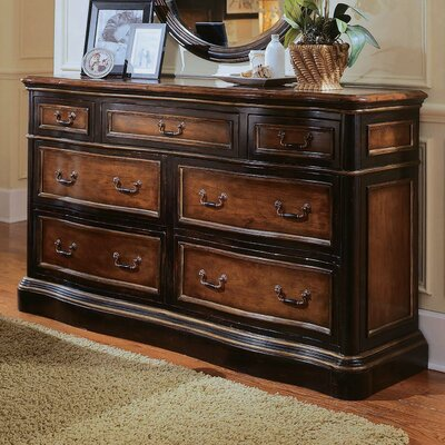 Amazing Low Price Hooker Furniture Preston Ridge 7 Drawer Double Dresser