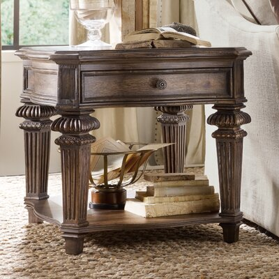 Rhapsody End Table with Storage