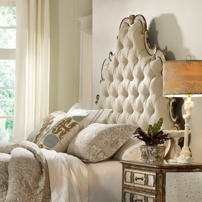 Sanctuary Upholstered Panel Headboard Size: Queen
