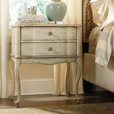 Hooker Furniture Sanctuary 2 Drawer Nightstand