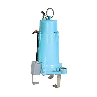 2 HP, 32 GPM - Submersible Grinder Pump with Piggyback Mechanical Float, 208 V
