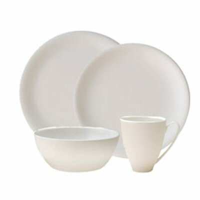 China by Denby Bone China 4 Piece Place Setting, Service for 1 CHN-100