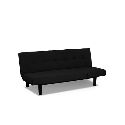Malibu Sleeper Sofa Finish: Black