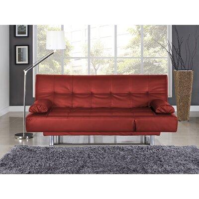 SC-DLS-FA-RD Serta Futons Red Sofas