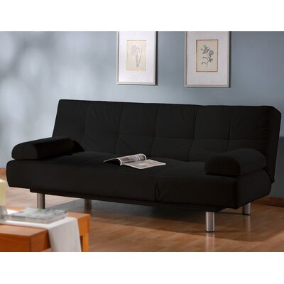 Chelsea Sleeper Sofa Upholstery: Black