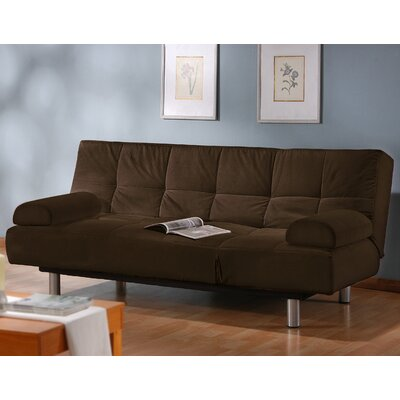 Chelsea Sleeper Sofa Upholstery: Chocolate