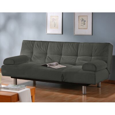Chelsea Sleeper Sofa Upholstery: Charcoal