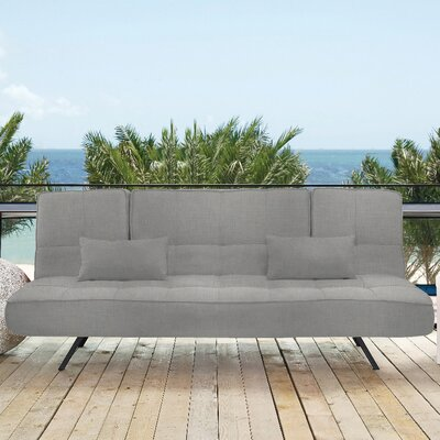 Pool and Deck Convertible Sofa Upholstery: Gray Stone