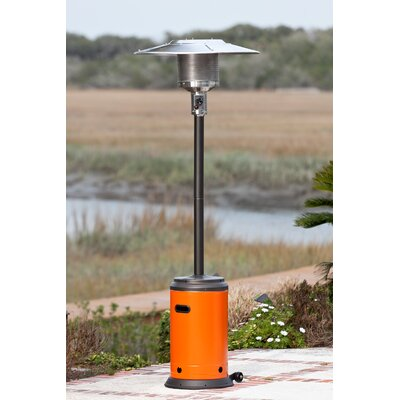 Lease to own Propane Patio Heater Finish: Mocha/...
