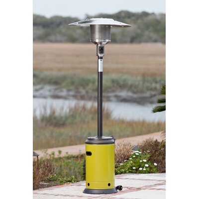 Easy financing Propane Patio Heater Finish: Mocha/...