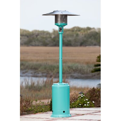 Credit for Propane Patio Heater Finish: Aqua B...