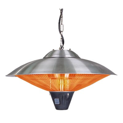 Easy financing Hanging Electric Patio Heater Finis...