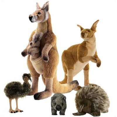 hansa Outback Stuffed Animal Collection I (4 Pieces)