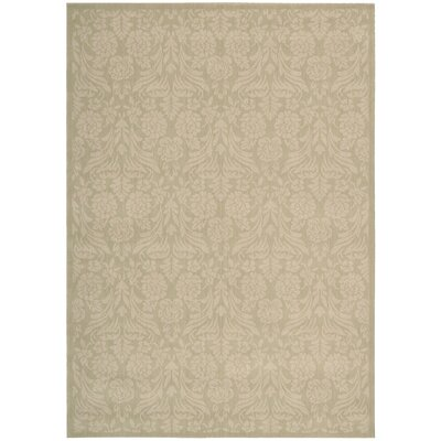 Hinderliter Beige Area Rug Rug Size: Rectangle 53 x 75