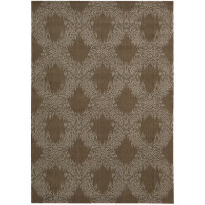 Opus Truffle Area Rug Rug Size: Rectangle 36 x 56