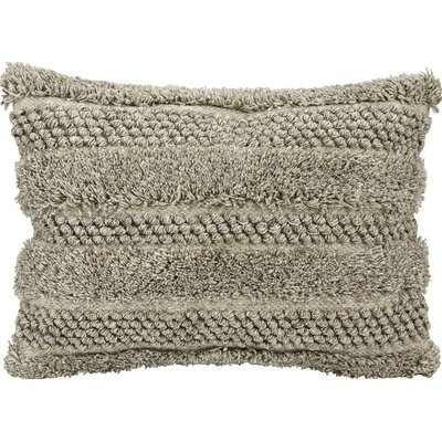Sanjay Lumbar Pillow Color: Gray