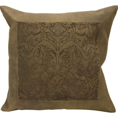Joseph Abboud Throw Pillow Color: Brown