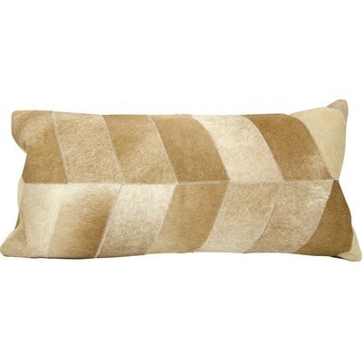 Joseph Abboud Lumbar Pillow Color: Beige