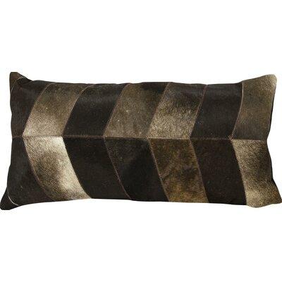 Joseph Abboud Lumbar Pillow Color: Dark Brown