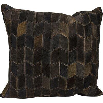 Joseph Abboud Throw Pillow Color: Dark Brown