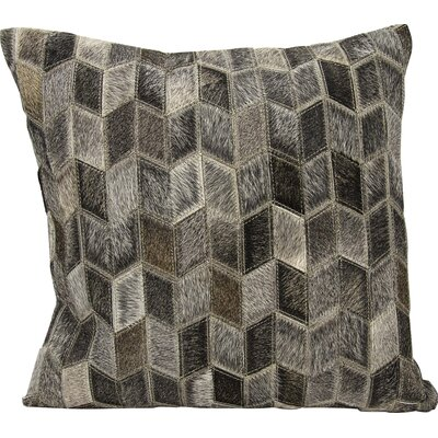 Joseph Abboud Throw Pillow Color: Dark Gray