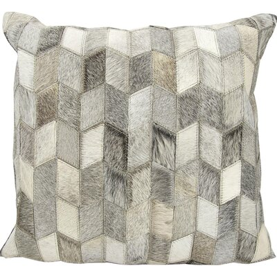 Joseph Abboud Throw Pillow Color: Light Gray