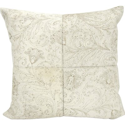 Joseph Abboud Throw Pillow Color: White