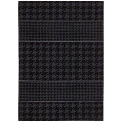 Griffith Hand-Tufted Black Area Rug Rug Size: Rectangle 96 x 13