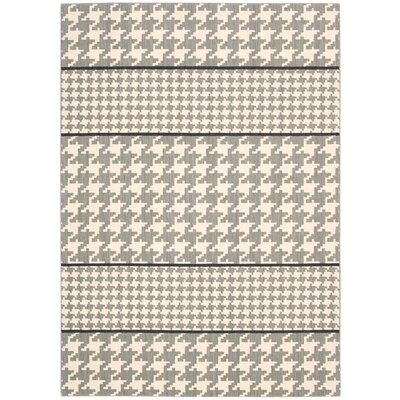 Griffith Ivory/Gray Area Rug Rug Size: Rectangle 96 x 13