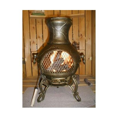 Lease to own Etruscan Style Chiminea...