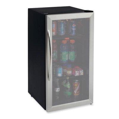 Refrigerator/beverage Center  17x20x33  Stst/bk