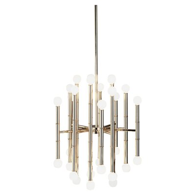 Meurice 30-Light Sputnik Chandelier Finish: Polished Nickel