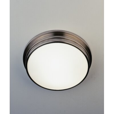 Roderick 2-Light Flush Mount Finish: Antique Silver