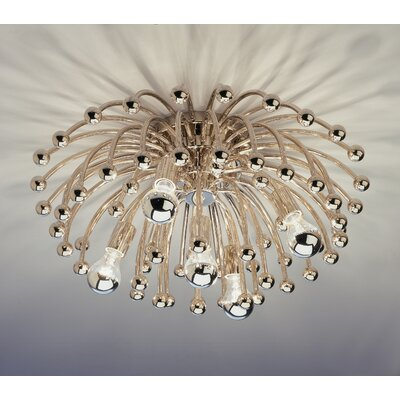 Anemone 1 Light Semi Flush Mount