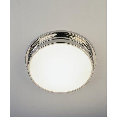 Roderick 2-Light Flush Mount Finish: Polished Nickel