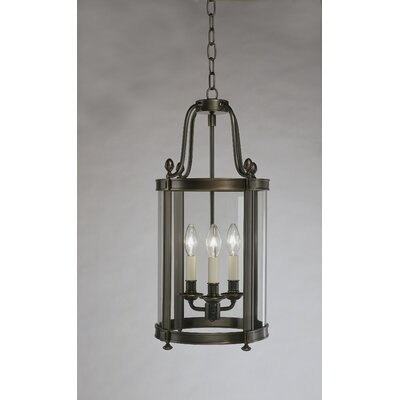 Blake 3-Light Lantern Pendant Finish: Deep Patina Bronze
