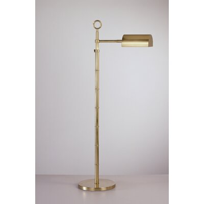 Pharmacy Floor Lamps on Adler Meurice Adjustable Pharmacy Floor Lamp In Antique Natural Brass
