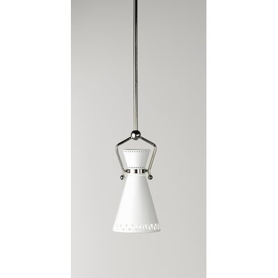 Jonathan Adler Havana Single Pendant in Polished Nickel